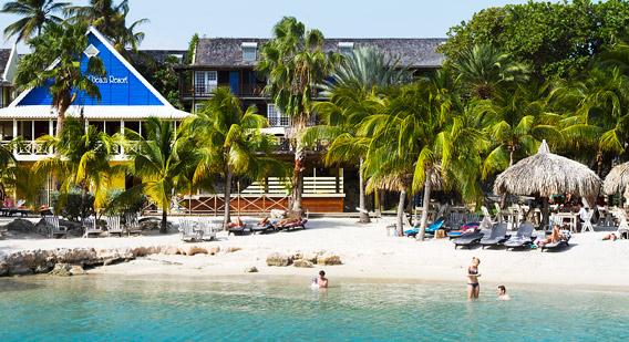 Sun sand scuba six best caribbean dive resorts - Lions dive hotel curacao ...