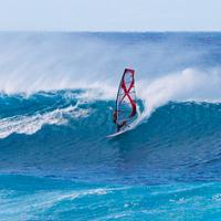 hookipa windsurfing, maui, hawaii