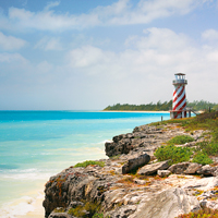 High Rock Lighthouse Grand Bahama Island, Bahamas