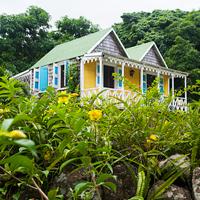 Hermitage Plantation Cottage, Nevis