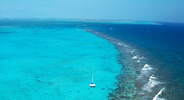 Grand Cayman north shore