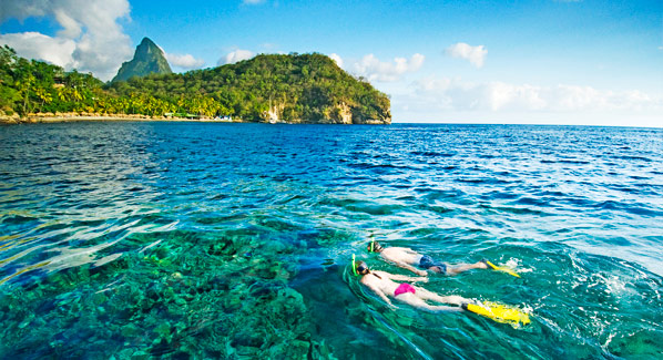St Lucia snorkeling