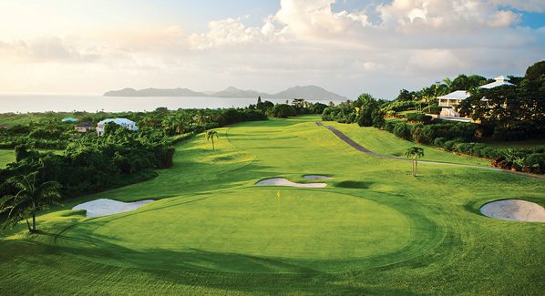 Four Seasons Nevis Golf Course, Oceanfront Golf Courses