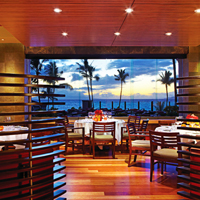 Four Seasons Maui, Spago Restaurant, Hawaii