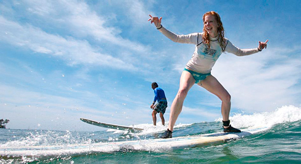 Hawaii surf lessons, waikiki