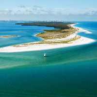 Clearwater beach island, florida