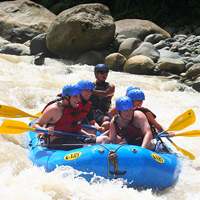 Costa Rica Whitewater Rafting