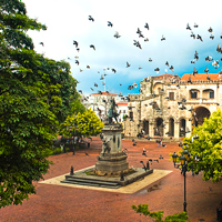 Santo Domingo Plaza, Dominican Republic