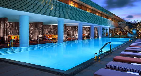 South Beach SLS Guest Pool, Miami, Florida