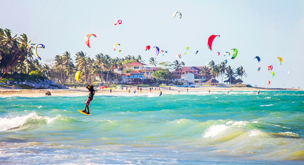 Dominican Republic Kiteboarding