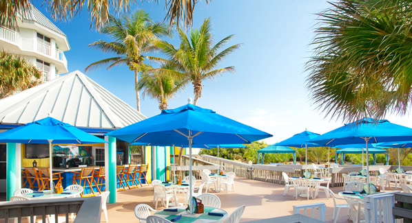 Hutchinson Island, Marriott, Sandpiper Tiki Bar, Florida