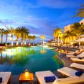 Cabo San Lucas Dreams Resort Pool Night