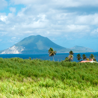 View of Nevis