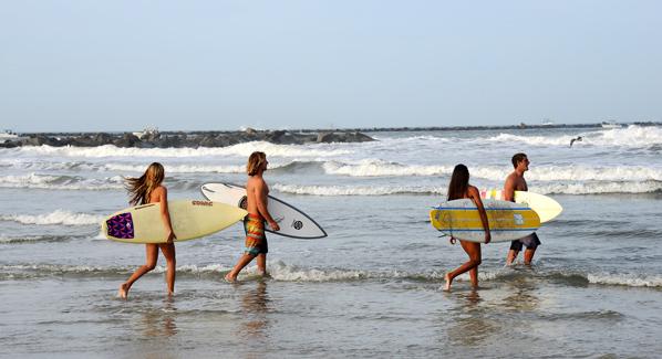 New Smyrna Surfers, Florida