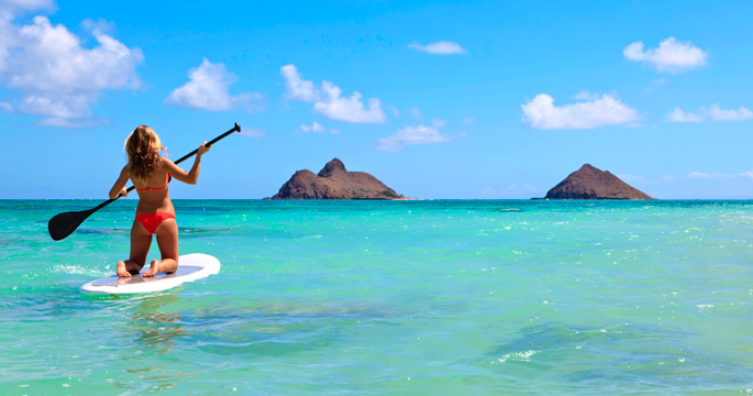 Fresh From Her Molokai Crossing, Bailey Rosen Signs Board ...