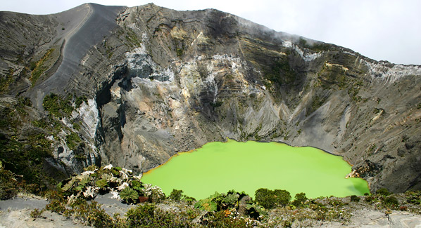 Irazu Costa Rica Volcano Hiking