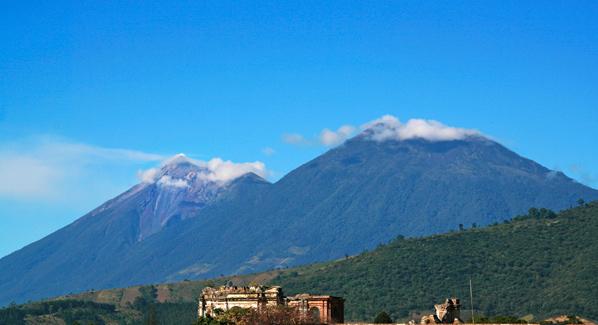 Guatemala Acatenago Fuego Volcano Hiking