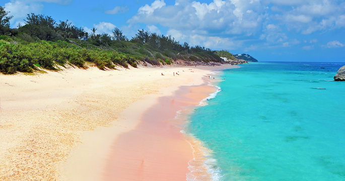 Bermuda Horseshoe Beach