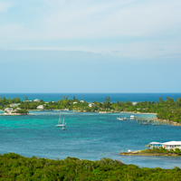 Abacos Elbow Cay from Lighthouse, Bahamas