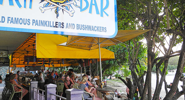 St John Beach Bar USVI