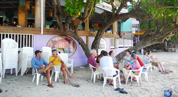Joes Rum Hut Bar St John USVI, St. John's Best Bars