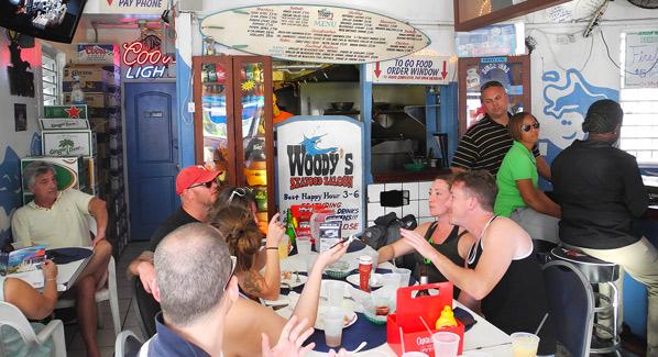 Woodys Bar USVI St John