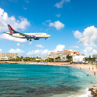 St Maarten Airport Beach