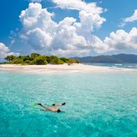 British Virgin Islands Sandy Spit Snorkeling
