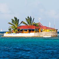 St Vincent Union Island Happy Island Bar