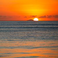 Antigua Redonda Island Sunset