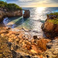 Puerto Rico Cabo Rojo Rock Formation