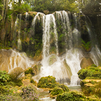 Cuba El Nicho Waterfall