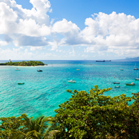Gosier Island Guadeloupe