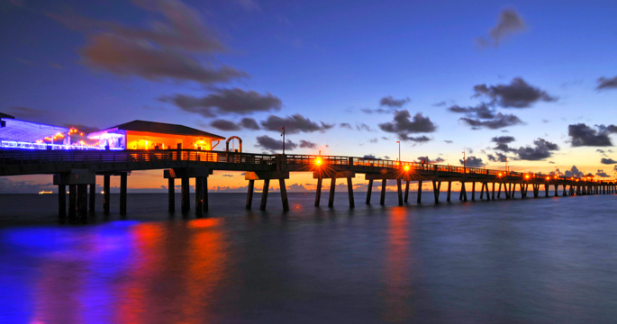 Florida Snapshots Dania Beach Pier Tropixtraveler