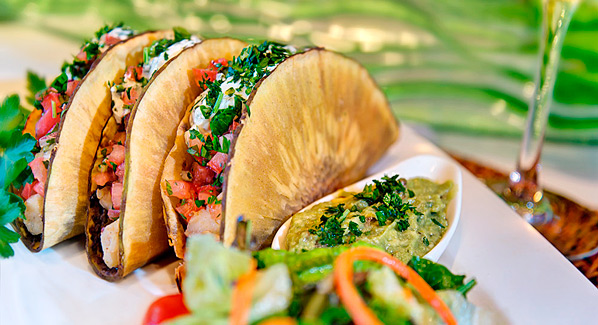 Ortanique taco Grand Cayman