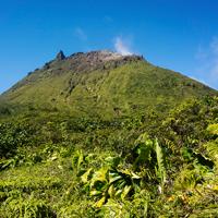 Guadeloupe La Soufriere Volcano