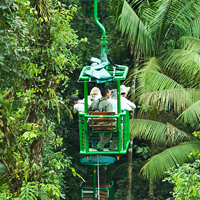 Costa Rica Rainforest Tram