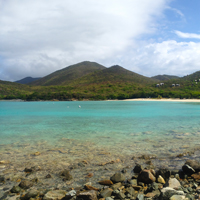 St. John USVI Salt Pond