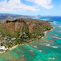 Oahu Hawaii Diamond Head