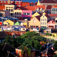 Curacao Wllemstad Floating Market