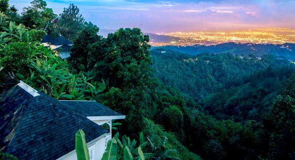 Jamaica Strawberry Hill Night Vista