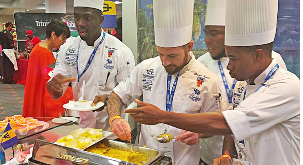 Miami Taste of the Islands Barbados Station