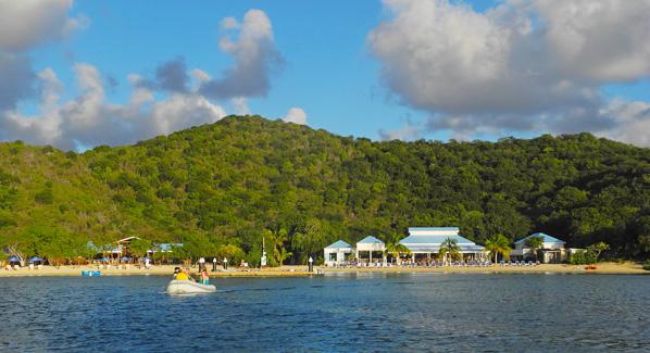 Norman Island BVI Pirates Bight Bar
