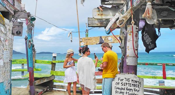 Bombas Surf Shack Tortola BVI
