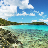 USVI St John Little Hawksnest Beach