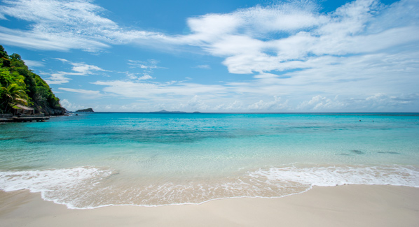 Mustique Beach
