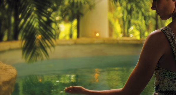 Maroma Spa Pool Riviera Maya