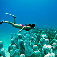 Cancun Underwater Sculpture