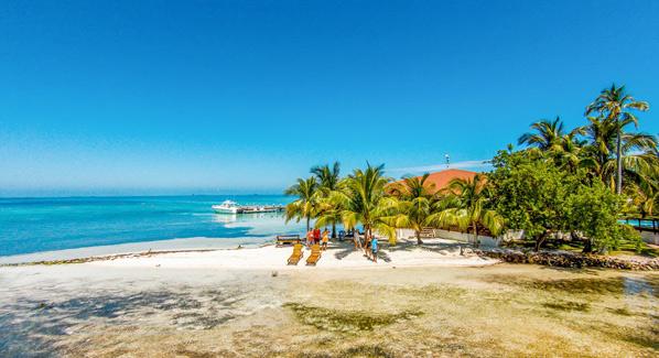 Hatchet Caye Belize