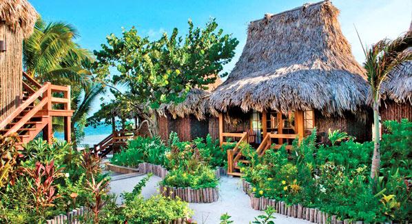 Ramons Village Belize Huts